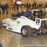 Спортивный автомобиль АМ 01М на 21 Олдтаймер-Галерее Ильи Сорокина слева сзади