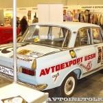 Раллийный автомобиль Москвич 412 на 21 Олдтаймер-Галерее Ильи Сорокина сзади