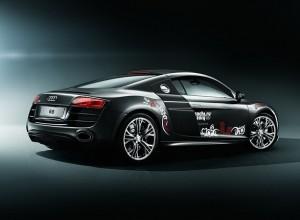 фотосессия олимпийского Audi R8 2