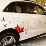 Audi Q3 Олимпийский автопарк на выставке в ГУМЕ февраль 2014 - 3