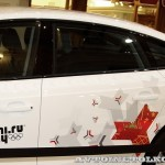 Audi A5 Sportback Олимпийский автопарк на выставке в ГУМЕ февраль 2014 - 2