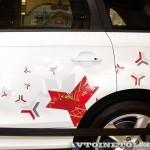 Audi Q7 Олимпийский автопарк на выставке в ГУМЕ февраль 2014 - 3