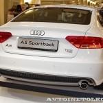 Audi A5 Sportback Олимпийский автопарк на выставке в ГУМЕ февраль 2014 - 5