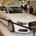 Audi A5 Sportback Олимпийский автопарк на выставке в ГУМЕ февраль 2014 - 3
