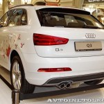 Audi Q3 Олимпийский автопарк на выставке в ГУМЕ февраль 2014 - 4