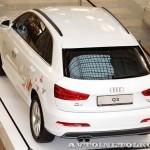 Audi Q3 Олимпийский автопарк на выставке в ГУМЕ февраль 2014 - 6