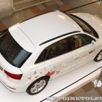 Audi Q3 Олимпийский автопарк на выставке в ГУМЕ февраль 2014 - 7