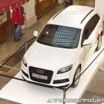 Audi Q7 Олимпийский автопарк на выставке в ГУМЕ февраль 2014 - 6