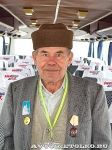 Олимпийский автобус ЛАЗ 699Р на фестивале Мир автобусов в Коломне 2013 года ветераны