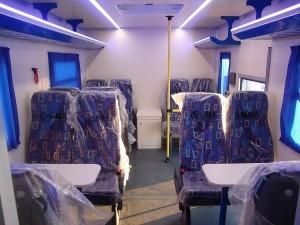 Вахтовый автобус Рускомтранс на шасси MAN TGS пассажирский салон