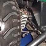 Вездеход на шинах низкого давления Петрович 354-60 на выставке Интерполитех 2011 подвеска