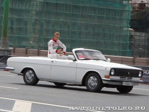 ГАЗ 24-10 кабриолет на автомобильном шоу Moscow City Racing 2013 - 1
