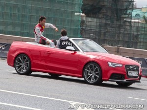 Audi RS5 на автомобильном шоу Moscow City Racing 2013 - 1