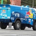 Победитель ралли Париж-Дакар КамАЗ 4326 команды КАМАЗ-Мастер на автомобильном шоу Moscow City Racing 2013 - 2