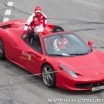 Ferrari 428 Spyder на автомобильном шоу Moscow City Racing 2013 - 2
