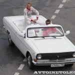 ГАЗ 24-10 кабриолет на автомобильном шоу Moscow City Racing 2013 - 2