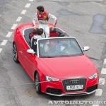 Audi RS5 на автомобильном шоу Moscow City Racing 2013 - 2