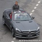 Mercedes-Benz SL63 AMG на автомобильном шоу Moscow City Racing 2013 - 2