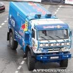 Победитель ралли Париж-Дакар КамАЗ 4326 команды КАМАЗ-Мастер на автомобильном шоу Moscow City Racing 2013 - 3