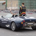 Spyker C8 Lavolette на автомобильном шоу Moscow City Racing 2013 - 2
