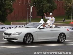 BMW M3 на автомобильном шоу Moscow City Racing 2013 - 1