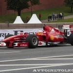 Ferrari F1 на автомобильном шоу Moscow City Racing 2013 - 3