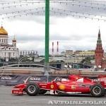 Ferrari F1 на автомобильном шоу Moscow City Racing 2013 - 2