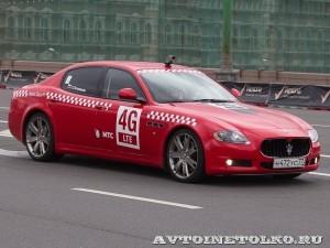 Maserati Quattroporte на автомобильном шоу Moscow City Racing 2013 - 1