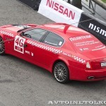 Maserati Quattroporte на автомобильном шоу Moscow City Racing 2013 - 2