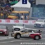 Citroen DS3 WRC на автомобильном шоу Moscow City Racing 2013 - 7
