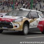 Citroen DS3 WRC на автомобильном шоу Moscow City Racing 2013 - 2