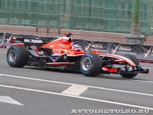 Marussia F1 на автомобильном шоу Moscow City Racing 2013 - 1