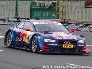 Audi RS5 DTM на автомобильном шоу Moscow City Racing 2013 - 1