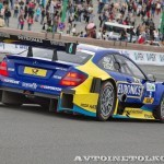 Mercedes-Benz C Coupe DTM на автомобильном шоу Moscow City Racing 2013 - 2