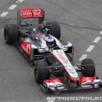 Vodafone McLaren Mercedes F1 на автомобильном шоу Moscow City Racing 2013 - 3