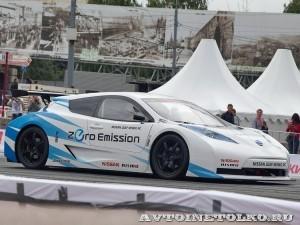 Nissan Leaf Nismo RC на автомобильном шоу Moscow City Racing 2013 - 1