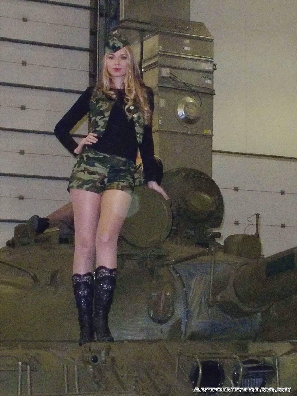 Русская девушка в камуфляже 14 фотография