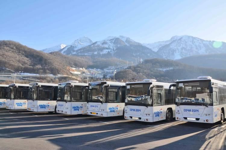 Гости Олимпиады совершили свыше 2 миллионов поездок на автобусах Группы ГАЗ - 1