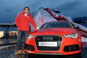 Андрей Малахов на Quattro-горке Audi в Олимпийском парке Сочи