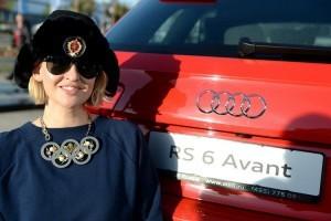 Полина Киценко на Quattro-горке Audi в Олимпийском парке Сочи