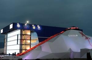 Quattro-горка Audi в Олимпийском парке Сочи - 3