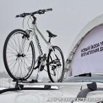 обновленный кроссовер Skoda Yeti с опциями багажник для велосипеда
