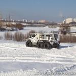Тест-драйв вездехода на шинах низкого давления Петрович 354-71 на выставке Вездеход 2013 в Крокус Экспо - 5