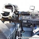Вездеход на шинах низкого давления Петрович 354-71 на выставке Вездеход 2013 в Крокус Экспо кабина справа