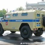Полицейский автомобиль СПМ-1 (ГАЗ-233034) на выставке Интерполитех - 2