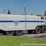 Водометный автомобиль ЛУВР-9,0-60 (532362) модель 100БВР Лавина-Ураган на выставке Интерполитех - 4
