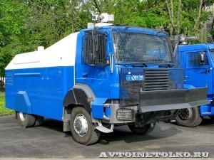 Водометный автомобиль BAT RCU 6000-1 RU на выставке Интерполитех - 1