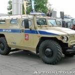 Полицейский автомобиль СПМ-1 (ГАЗ-233034) на выставке Интерполитех - 4