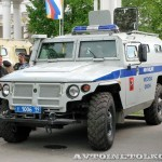 Полицейский автомобиль СПМ-2 (ГАЗ-233036) на выставке Интерполитех - 1