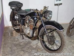 Мотоцикл BMW R-35 в музее Ретро-Мото на ВВЦ - 1